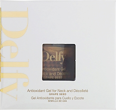 Духи, Парфюмерия, косметика РАСПРОДАЖА! Антиоксидантный гель для шеи и декольте - Delfy Antioxidant Gel For Neck And Decollete