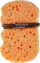 Духи, Парфюмерия, косметика Мочалка на основе хлопка и льна - Suavipiel Natural Vegetal Sponge