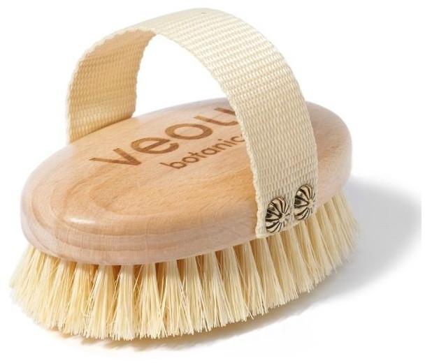 Массажная щетка для тела - Veoli Botanica Just Brush It