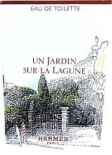 Духи, Парфюмерия, косметика Hermes Un Jardin Sur La Lagune - Туалетная вода (пробник)