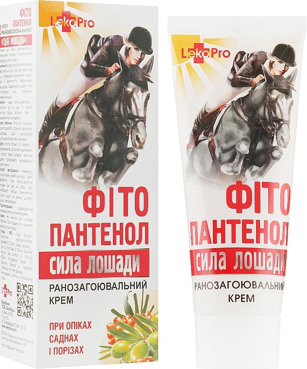 "Крем ""Фитопантенол. Сила лошади"" ранозаживляющий - LekoPro"