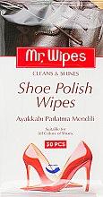 Духи, Парфюмерия, косметика Влажные салфетки для обуви - Farmasi Mr.Wipes Shoe Polish Wipes