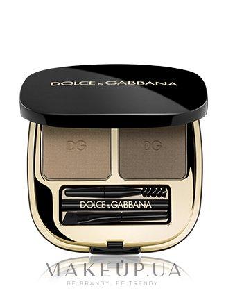 Двойная пудра для бровей - Dolce&Gabbana Emotioneyes Brow Powder Duo — фото 01