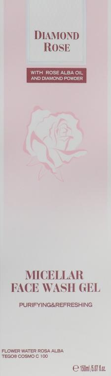 Мицеллярный гель для умывания лица - BioFresh Diamond Rose Micellar Face Wash Gel