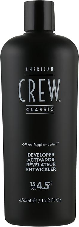 Проявитель для системы маскировки седины - American Crew Precision Blend Developer 15 Vol 4.5%