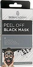 Черная маска для лица - Skin Academy Peel Off Black Mask — фото N1