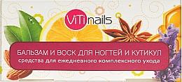 Духи, Парфюмерия, косметика Набор - ViTinails (balm/6ml + vosk/6ml)