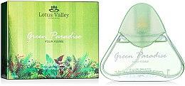 Духи, Парфюмерия, косметика Lotus Valley Green Paradise - Туалетная вода