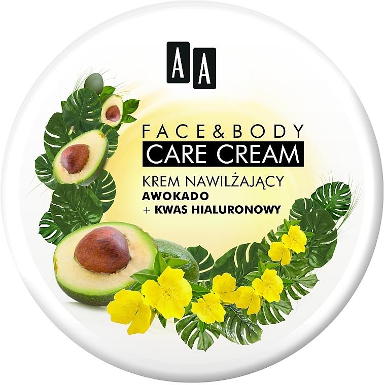 """Крем для лица и тела """"Авокадо и гиалуроновая кислота"""" - AA Face And Body Care Cream"""