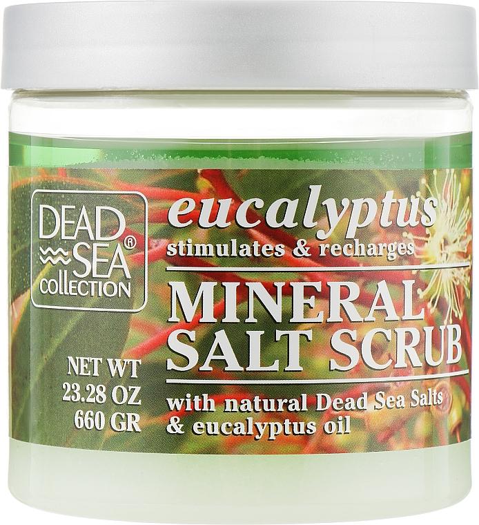 Скраб для тела с минералами Мертвого моря и маслом эвкалипта - Dead Sea Collection Eucalyptus Mineral Salt Scrub