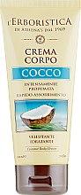 Духи, Парфюмерия, косметика Увлажняющий крем для тела с кокосовым ароматом - Athena's Erboristica Coconu Body Cream