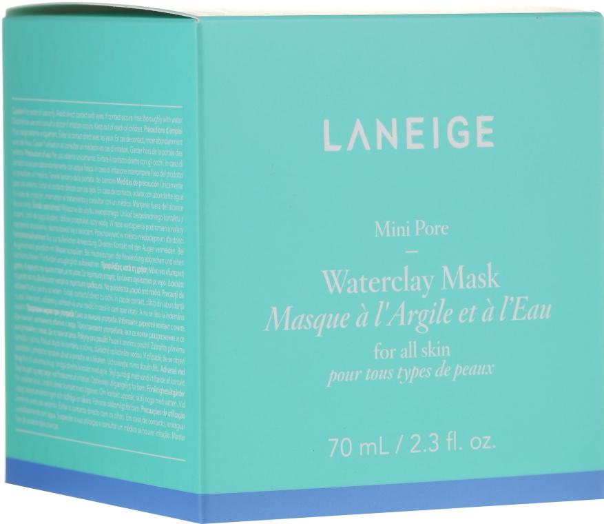 Минеральная глиняная маска с мятной водой - Laneige Mini Pore Waterclay Mask