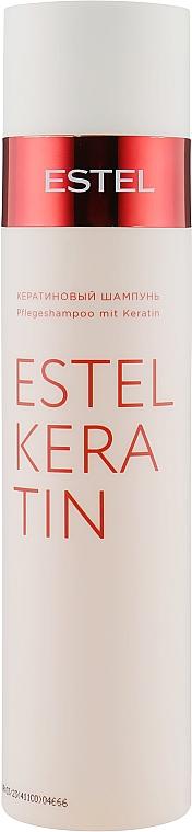 Кератиновый шампунь для волос - Estel Professional Keratin Shampoo