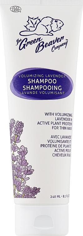 Шампунь для увеличения объема волос с экстрактом лаванды - Green Beaver Volumizing Lavender Shampoo
