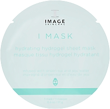 Духи, Парфюмерия, косметика Увлажняющая гидрогелевая маска - Image Skincare I Mask Hydrating Hydrogel Sheet Mask
