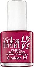 Духи, Парфюмерия, косметика Лак для ногтей - Avon Color Trend Love