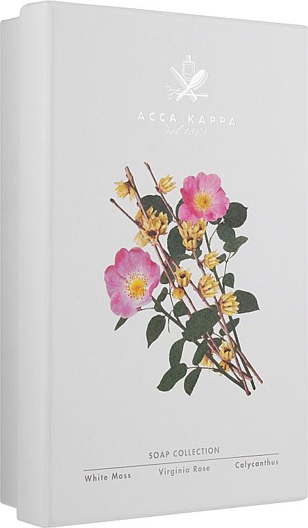 Набор - Acca Kappa Soap Set (soap/3x150g)