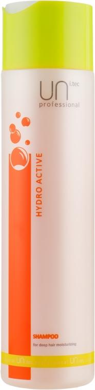 Шампунь для глубокого увлажнения волос - UNI.tec Professional Hydro Active Shampoo