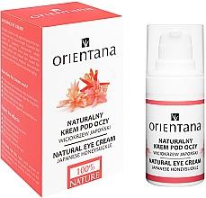 Духи, Парфюмерия, косметика Крем для век - Orientana Bio Eye Cream Illuminating & Ultra Moisturising