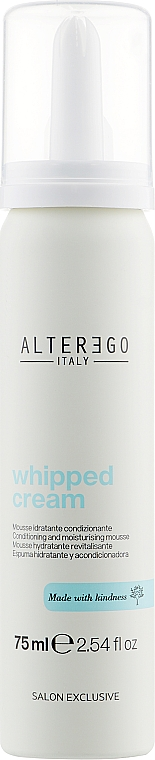 Омолаживающие взбитые сливки для волос - Alter Ego Arganikare Whipped Cream