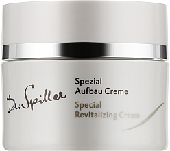 Духи, Парфюмерия, косметика Восстанавливающий крем для гиперчувствительной кожи - Dr. Spiller Special Revitalizing Cream