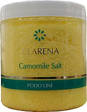 Парфумерія, косметика Дрібнозерниста сіль з ромашкою для педикюрних ванночок - Clarena Podo Line Camomile Salt