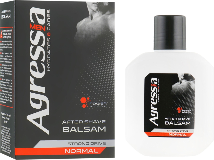 """Бальзам после бритья """"Normal"""" - Men Agressia Normal"""
