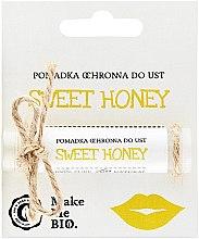 Духи, Парфюмерия, косметика Защитный бальзам для губ - Make Me BIO Sweet Honey