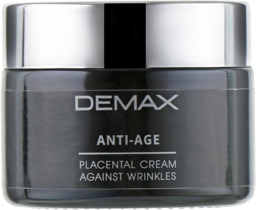 Плацентарный крем от морщин для лица - Demax Placental Cream Against Wrinkles