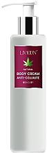 Духи, Парфюмерия, косметика Антицеллюлитный крем для тела - Livioon Body Cream Hemp Oil Anti-Cellulit