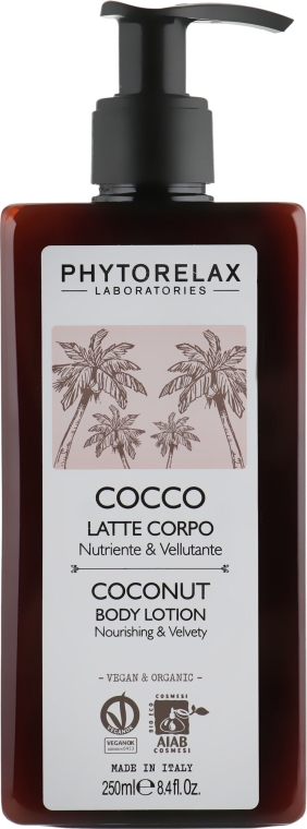 Лосьон для тела - Phytorelax Laboratories Coconut Body Lotion
