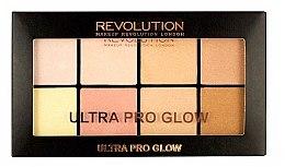 Духи, Парфюмерия, косметика Палетка хайлайтеров - Makeup Revolution Ultra Pro Glow