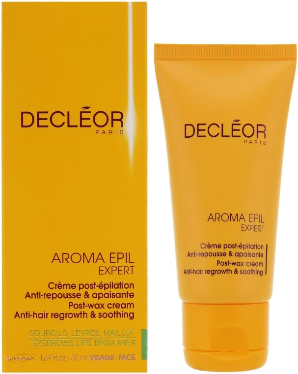 Средство после эпиляции для чувствительных зон - Decleor Aroma Epil Expert Post-Wax Cream