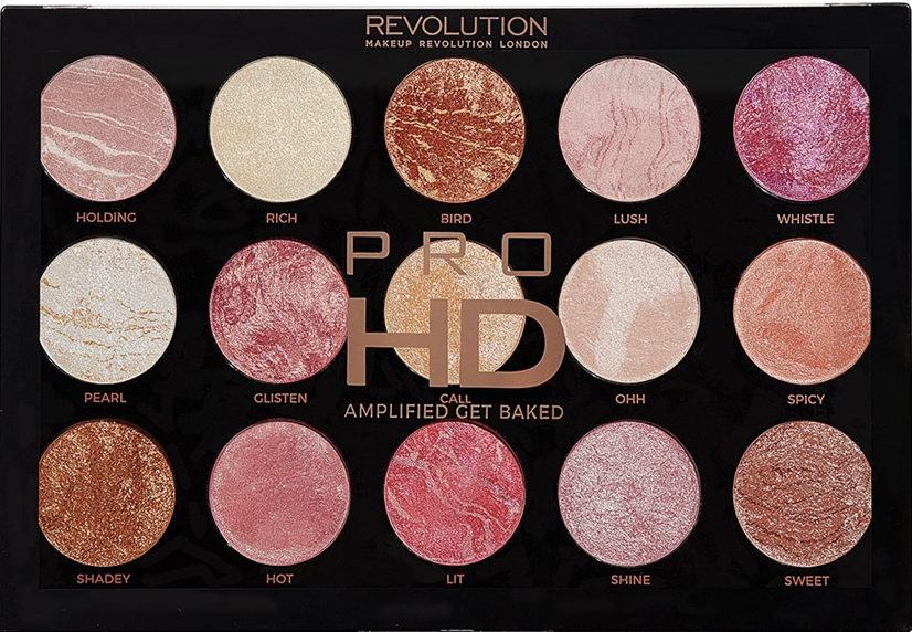 Палетка для макияжа - Makeup Revolution Pro HD Amplified Get Baked — фото N1