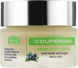 Духи, Парфюмерия, косметика Крем ночной освежающий и увлажняющий для лица и шеи - Helan Couperose Soothing Night Cream