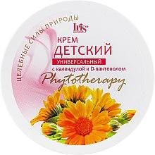 Духи, Парфюмерия, косметика Детский крем с календулой и D-пантенолом - Iris Cosmetic Phytotherapy