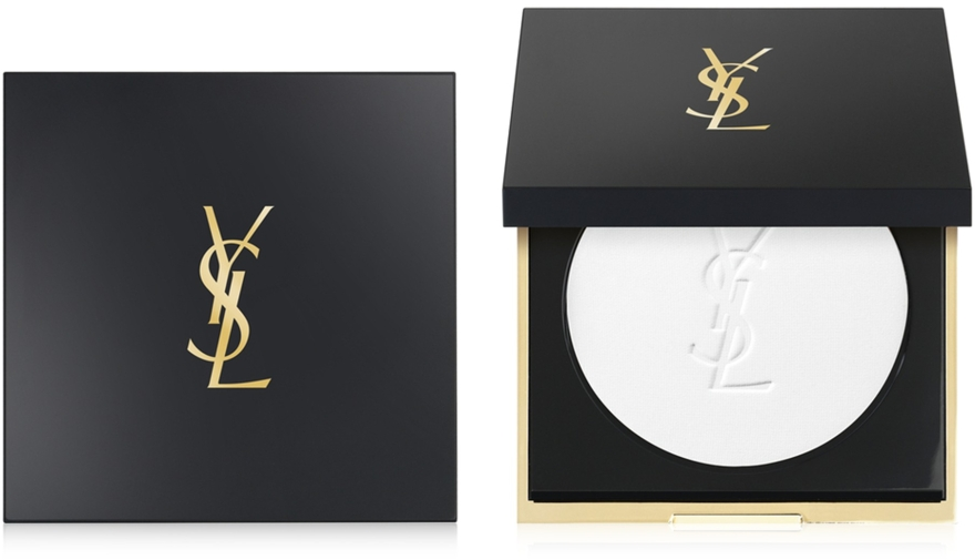 Компактная пудра с матирующим эффектом - Yves Saint Laurent Encre De Peau All Hours Setting Powder