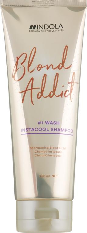 Шампунь для холодных оттенков блонд - Indola Blond Addict InstaCool Shampoo
