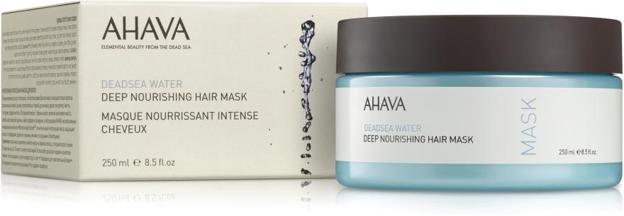 Питательная маска для волос - Ahava Deadsea Water Deep Nourishing Hair Mask