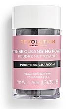 Духи, Парфюмерия, косметика Очищающая пудра для лица - Revolution Skincare Purifying Charcoal Cleansing Powder