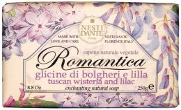 "Духи, Парфюмерия, косметика Мыло ""Глициния и сирень"" - Nesti Dante Romantica Tuscan Wisteria and Lilac Soap"