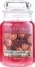 """Духи, Парфюмерия, косметика Ароматическая свеча """"Мандарин и клюква"""" - Yankee Candle Mandarin Cranberry"""