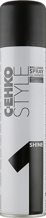 "Спрей для волос ""Бриллиантовый блеск"" - C:EHKO Style Brilliance Spray Glimmer (1)"