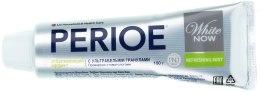 Зубная паста с ультрабелыми гранулами - LG Household & Health Perioe White Now Refreshing Mint — фото N2