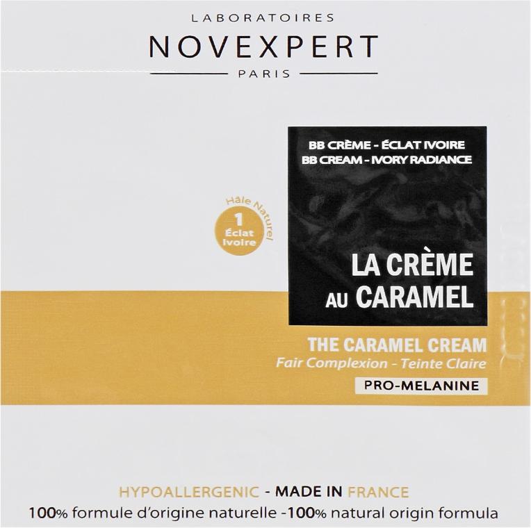 """ВВ-крем для светлой кожи лица """"Карамель"""" - Novexpert Pro-Melanin The Caramel Cream (пробник)"""