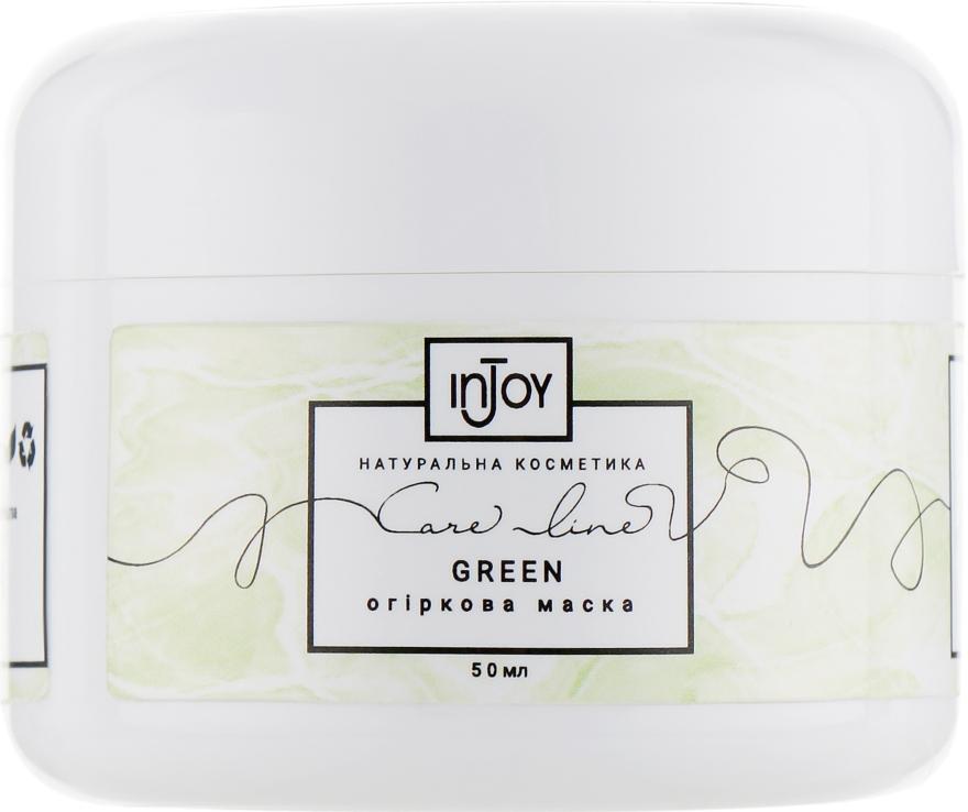 "Огуречная маска для лица ""Green"" - InJoy Care Line — фото N2"