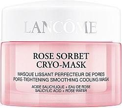 Духи, Парфюмерия, косметика Маска для кожи лица с эффектом охлаждения и сужения пор - Lancome Rose Sorbet Cryo-Mask