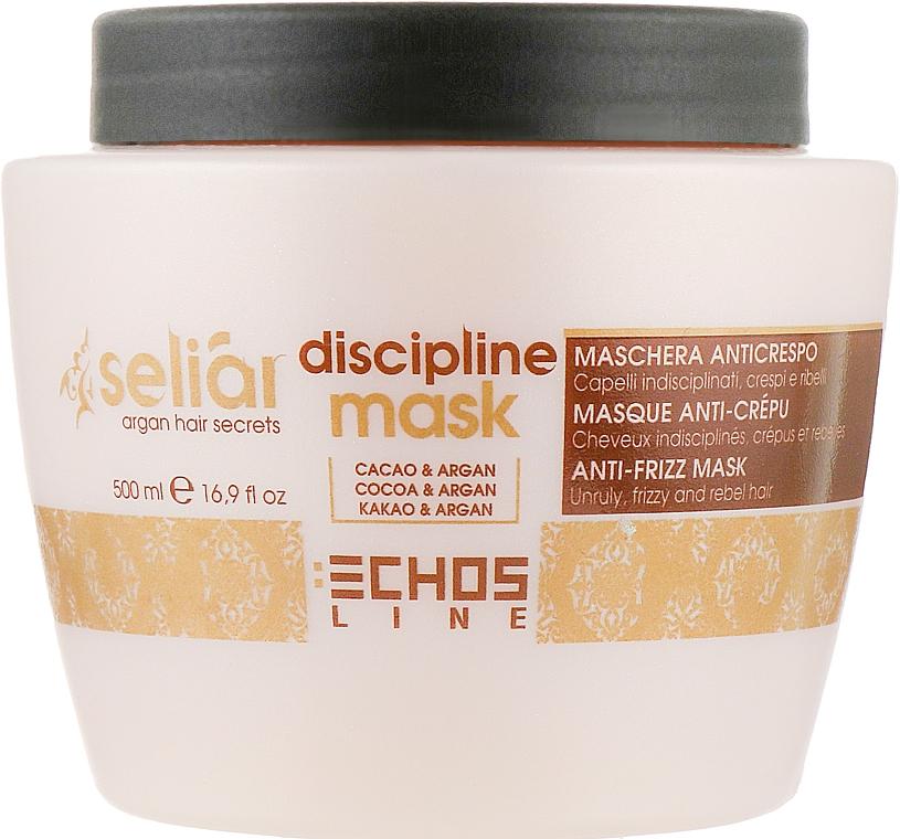 Маска для непослушных волос - Echosline Seliar Discipline Mask