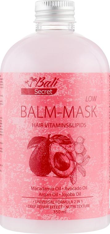 Универсальная бальзам-маска по уходу за волосами - Bali Secret Hair Vitamin&Lipids Balm-mask