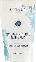 Духи, Парфюмерия, косметика Натуральная минеральная соль для ванн - Satara Dead Sea Natural Mineral Bath Salts